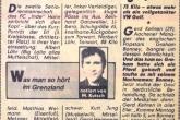 19.12.1979 - Bild-Zeitung: Eine Tonne Fußballmannschaft