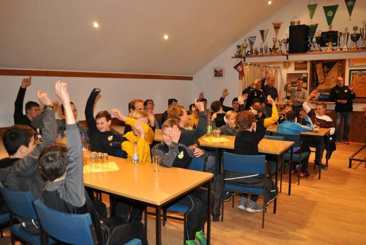 Fußball-Jugend wählt neuen Jugendleiter