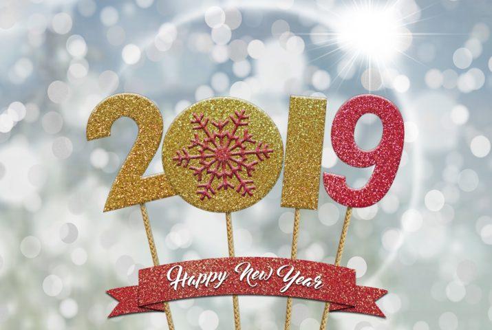 Neujahrsgrüße 2019