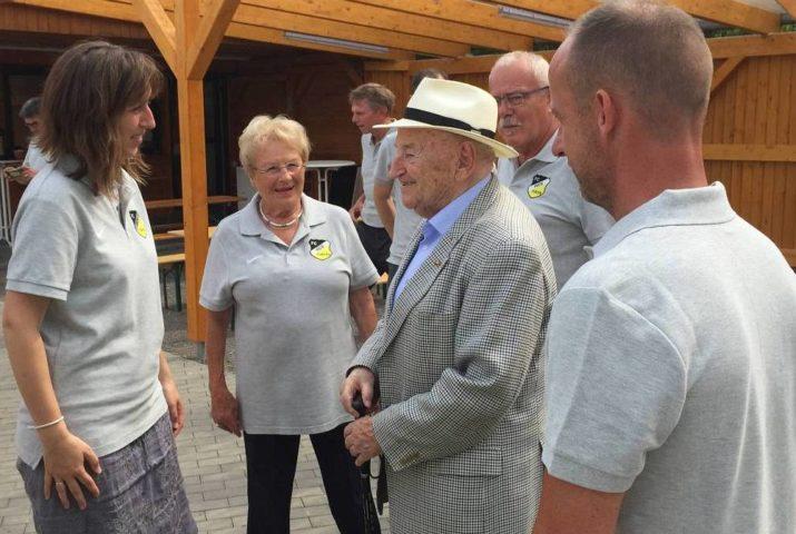 Alles Gute zum 95. Geburtstag, Egidius Braun!