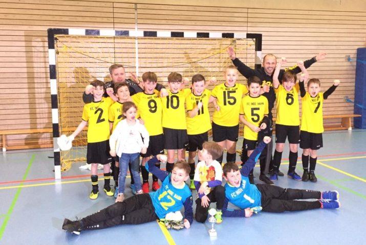 E1-Junioren sind Futsal-Kreismeister!